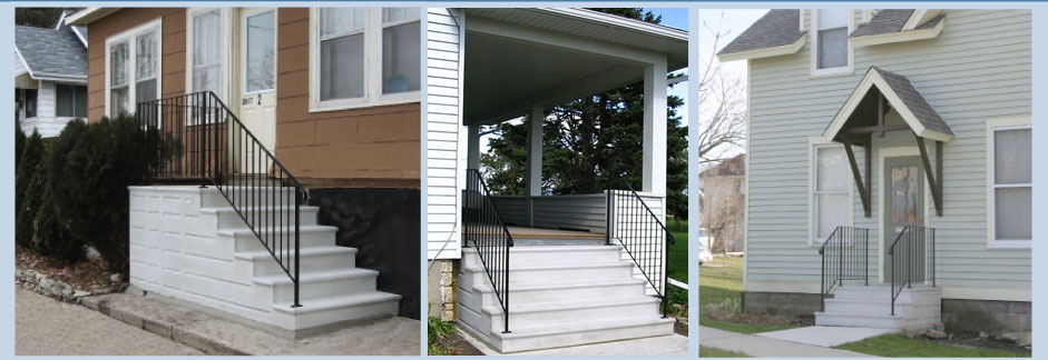 Doty Steps   Quality Precast Steps And Custom Railings Since 1948